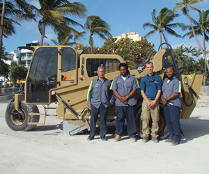 New Cherrington 5500 for City of Miami Beach, FL, USA.
